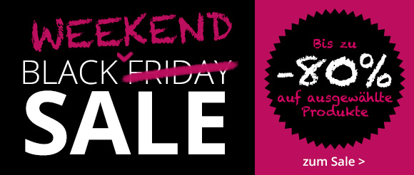 Black Weekend Sale bei windeln.de